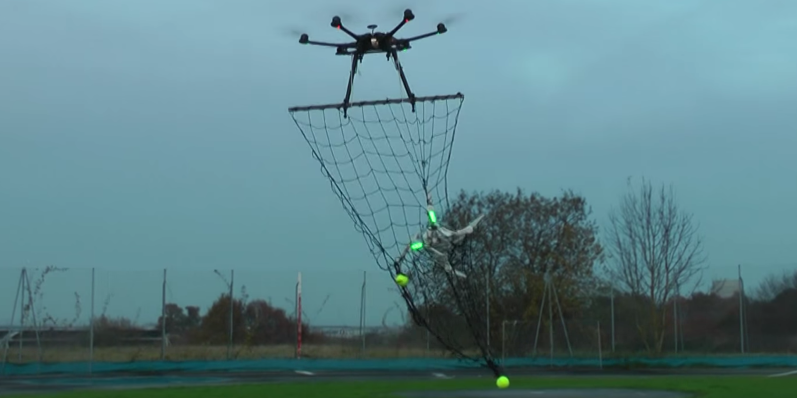This Drone Interceptor Captures Your Pathetic Puny Drone