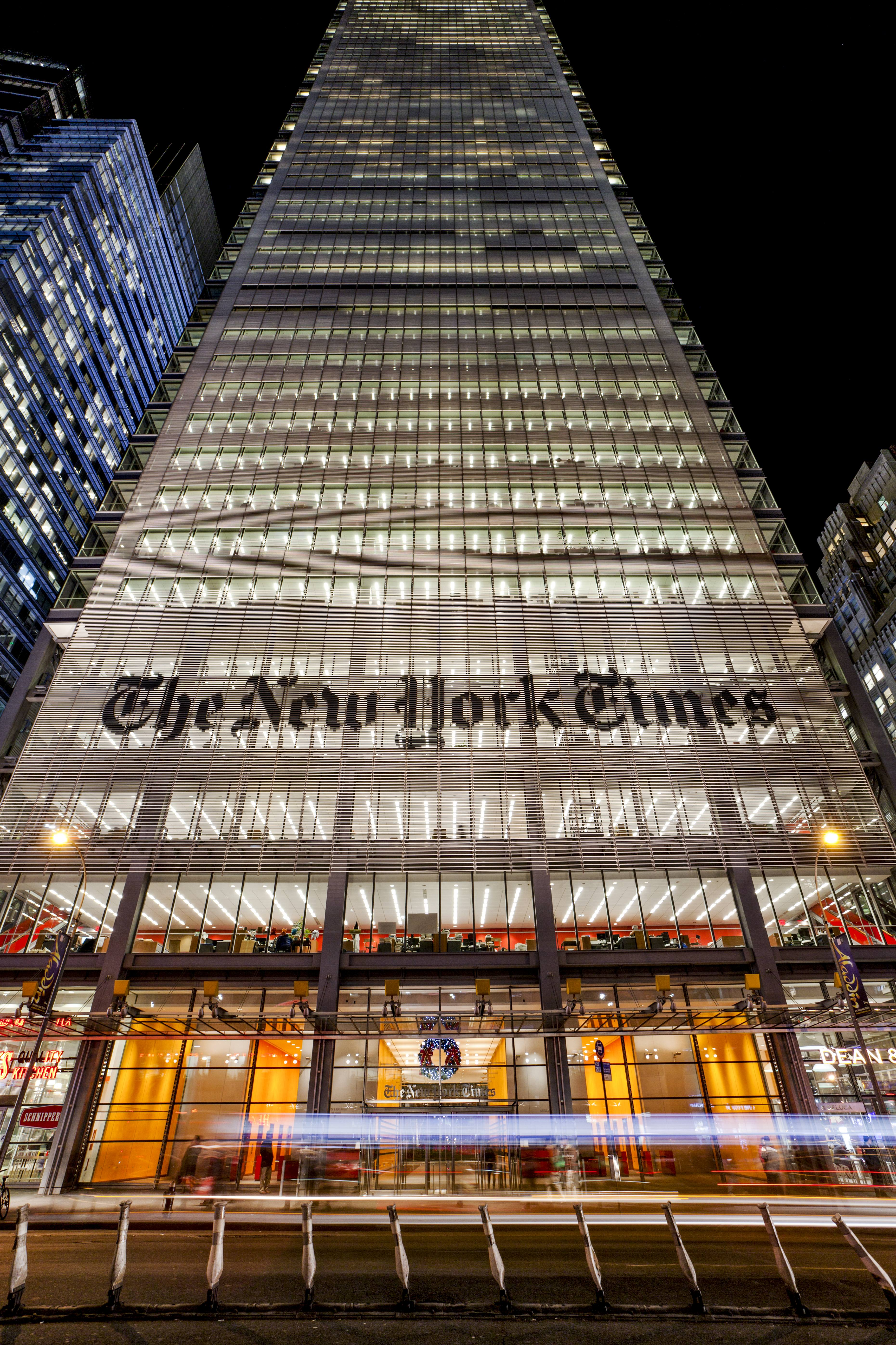 Behind the Scenes at The New York Times