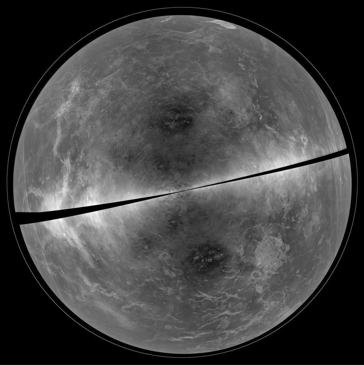 This Is What Venus Looks Like Under Its Clouds