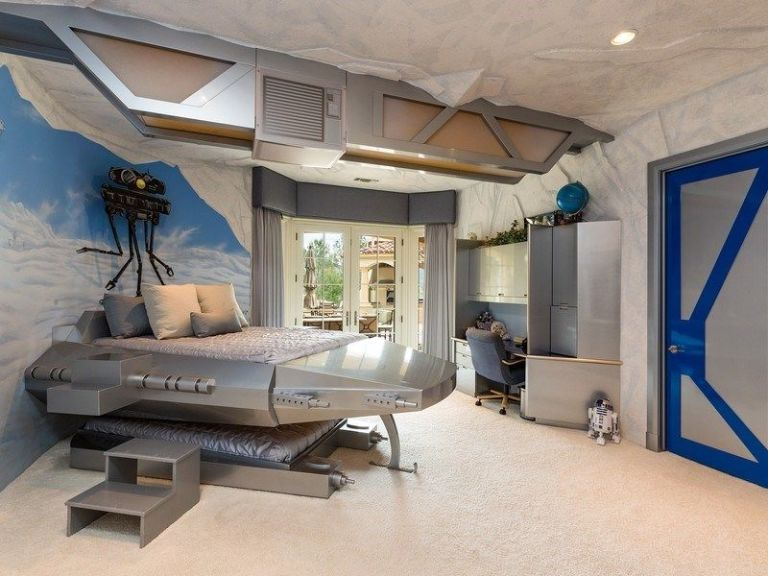 this 15 million california mansion has a star wars bedroom