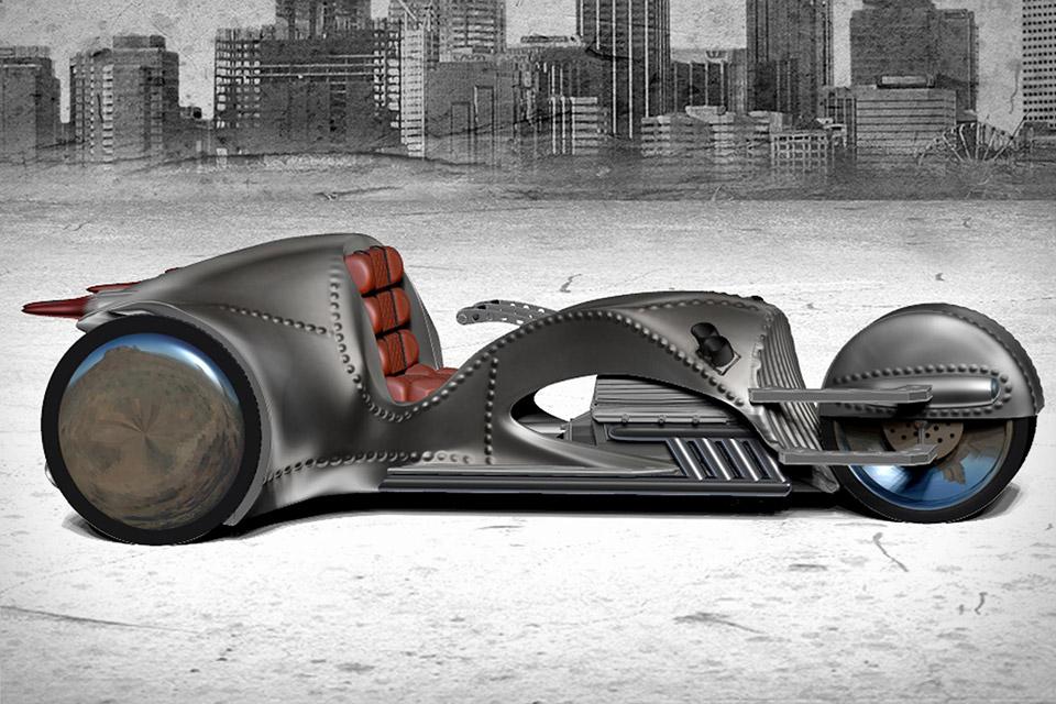 William Shatner Co Designed This Crazy Retro Futurist Bike