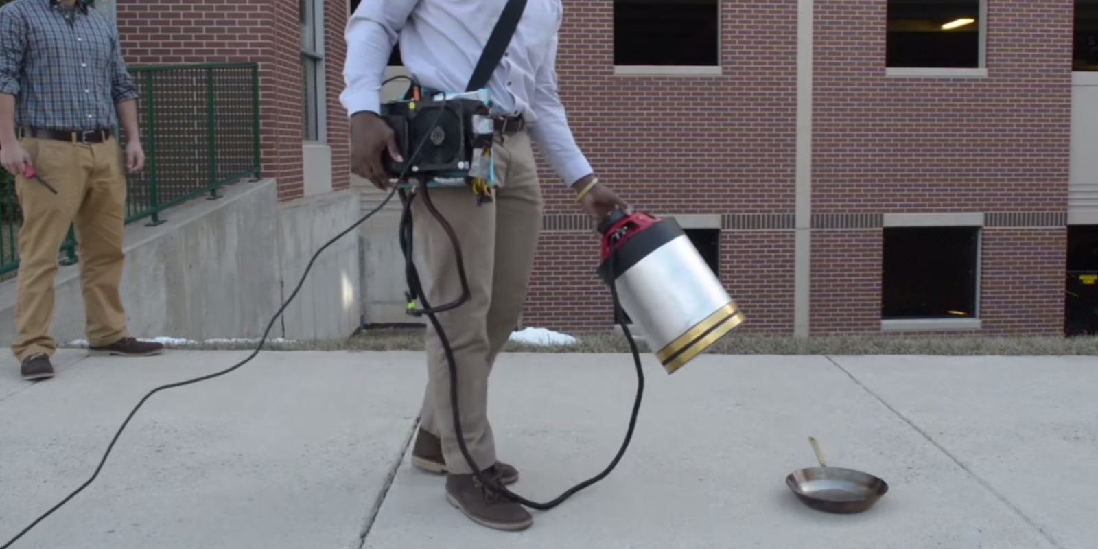 Sonic Firefighter Extinguishes Flames Using Only Sound