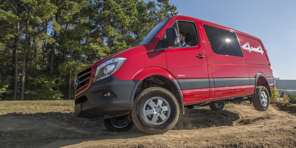 This Is the Unstoppable Van You Want to Take OffRoading