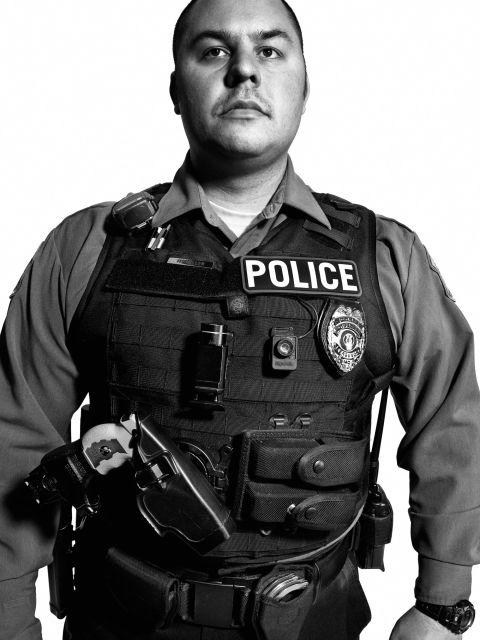 Officer M. Miller<br /> Ferguson Police Department, Missouri<br /> Years of service: 2