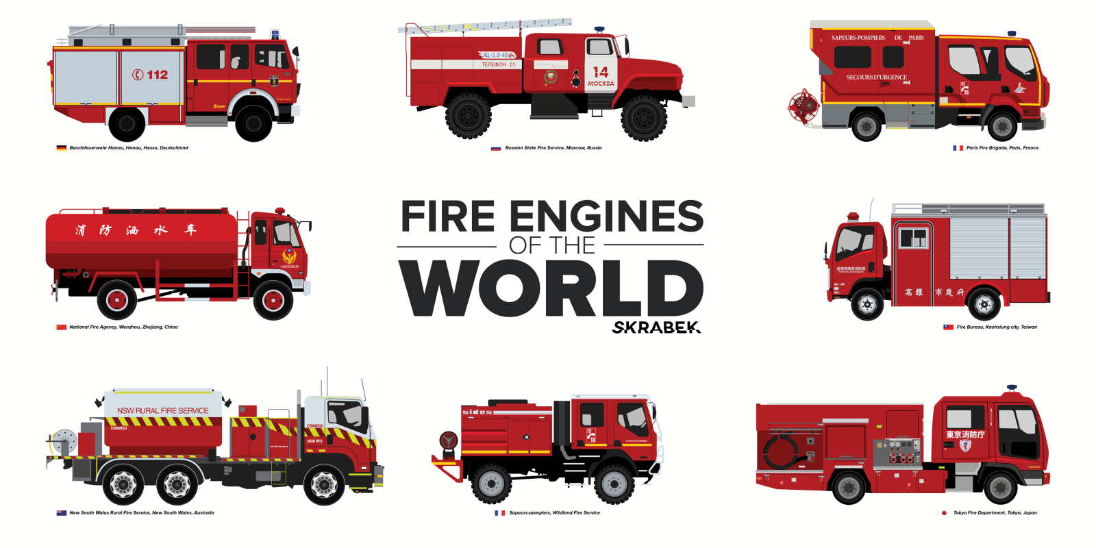 What Fire Trucks Look Like Around The Globe