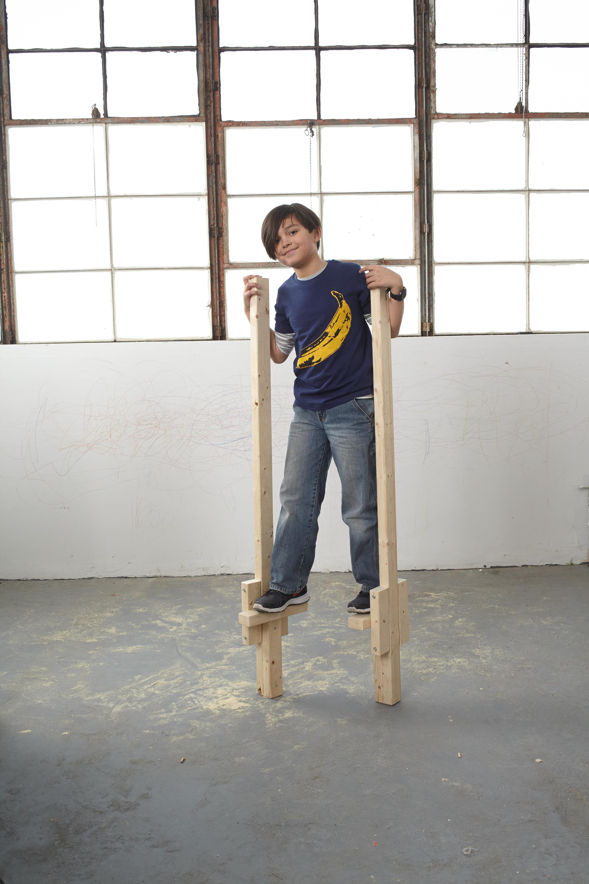 How To Build A Pair Of Stilts