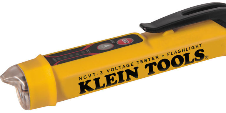 Klein Tools Voltage Tester : Best new tools the klein non contact voltage tester