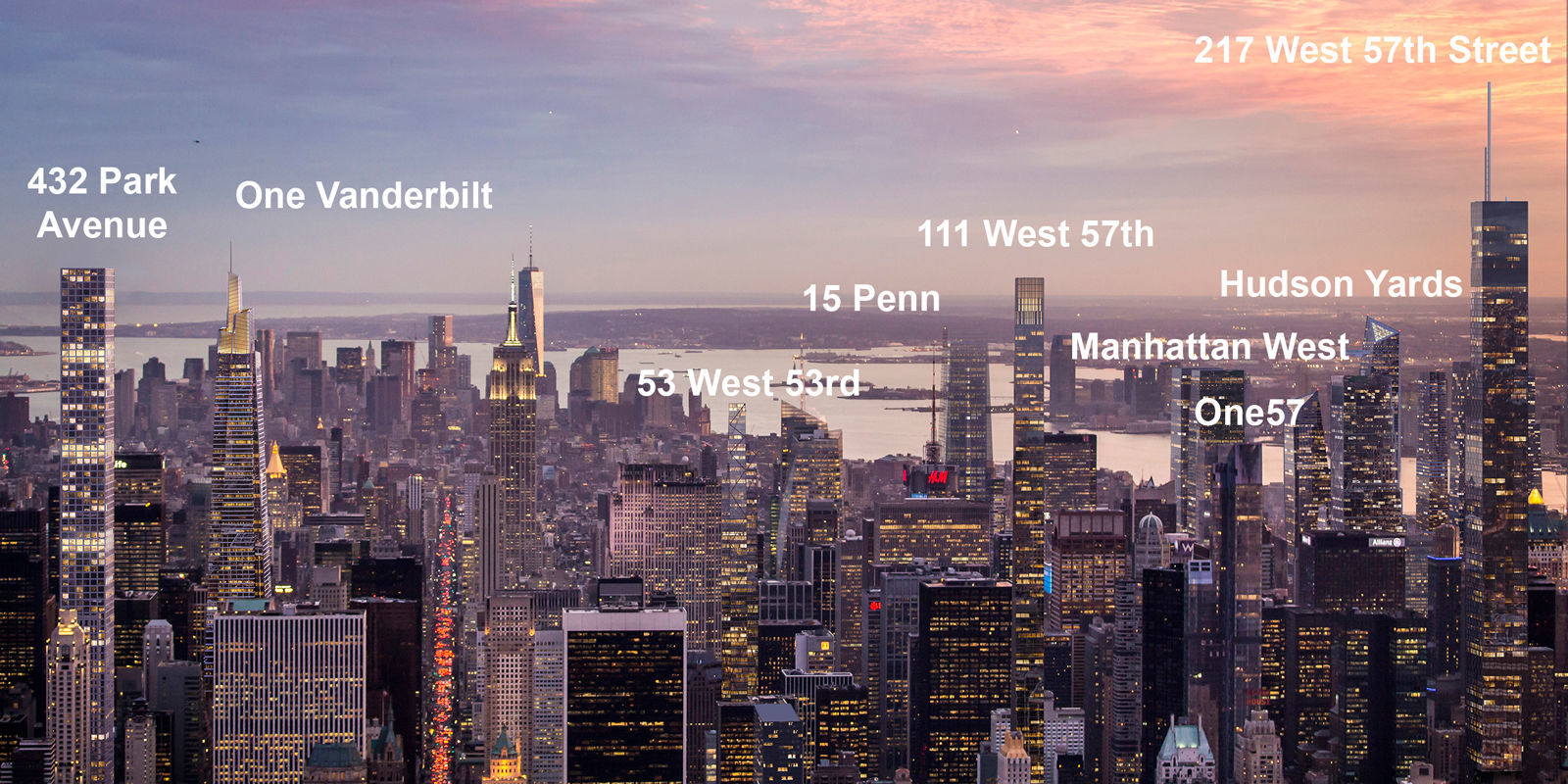 Behold The Towering New York City Skyline Of 2030