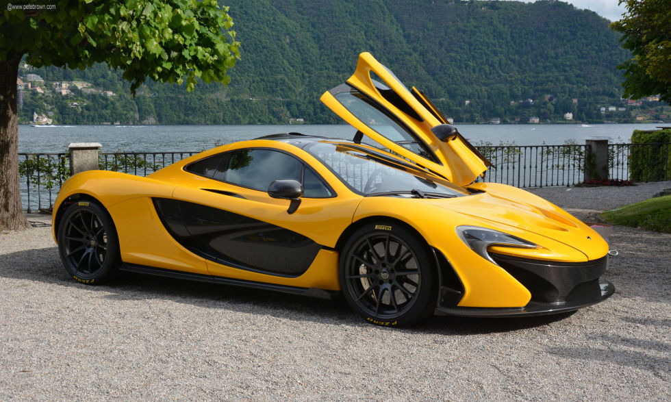 Of the current crop of futuristic, hybridized hyper-supercars, none of them convey quite the same sense of kinetic insanity quite like the P1, with curves as electric as the batteries bolted to its wheels. If Batman wanted to go (sorta) green in 2015, he'd take one of these.