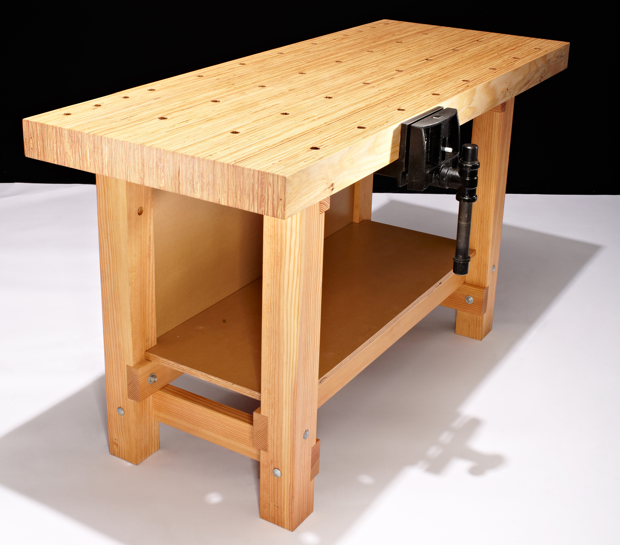 28 Awesome Woodworking Bench Top Design