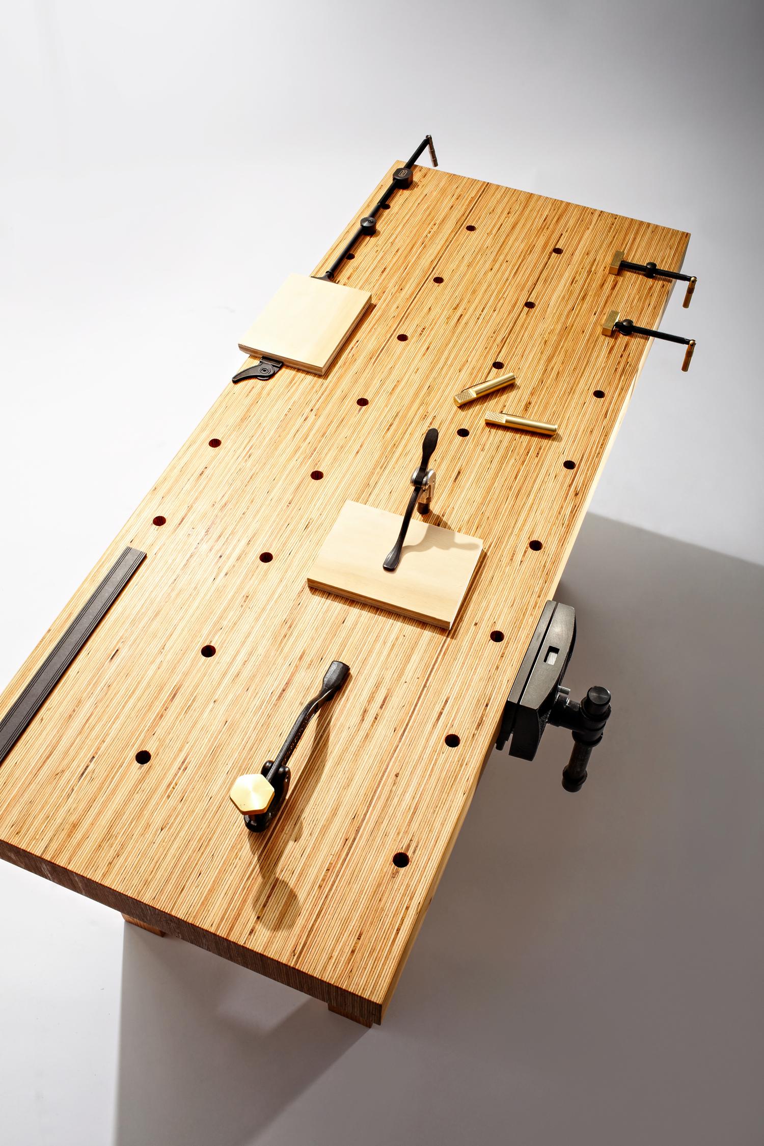 Foyer Bench Popular Mechanics : How to build this diy workbench