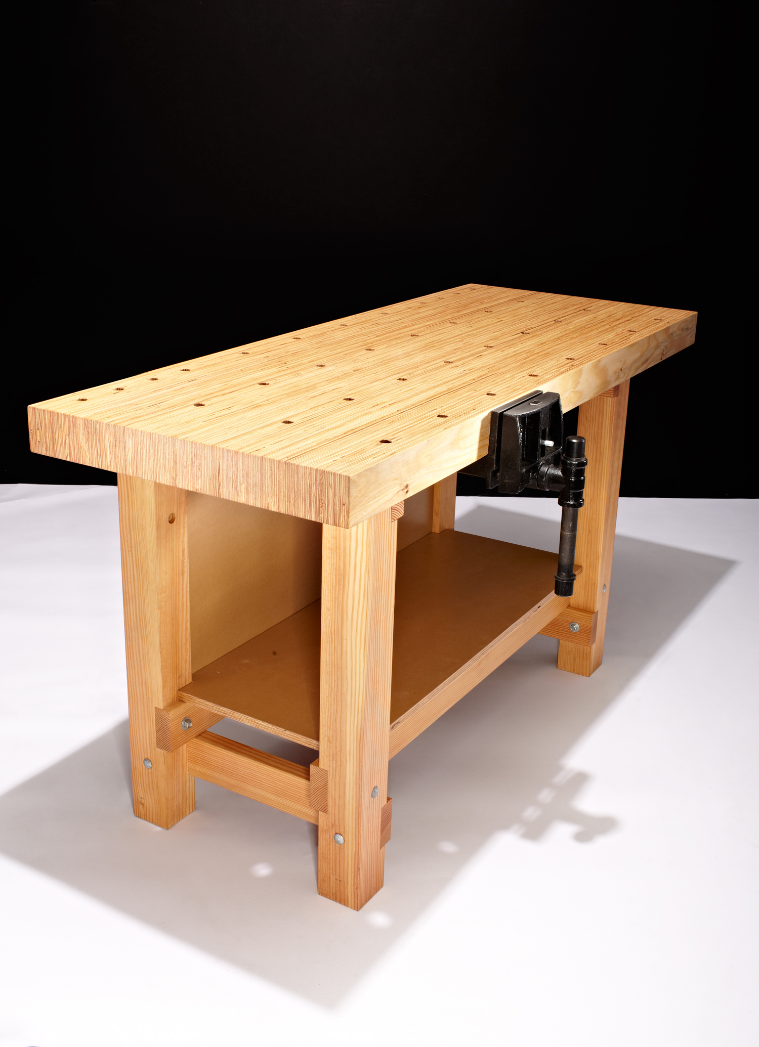 Foyer Bench Popular Mechanics : How to build a workbench