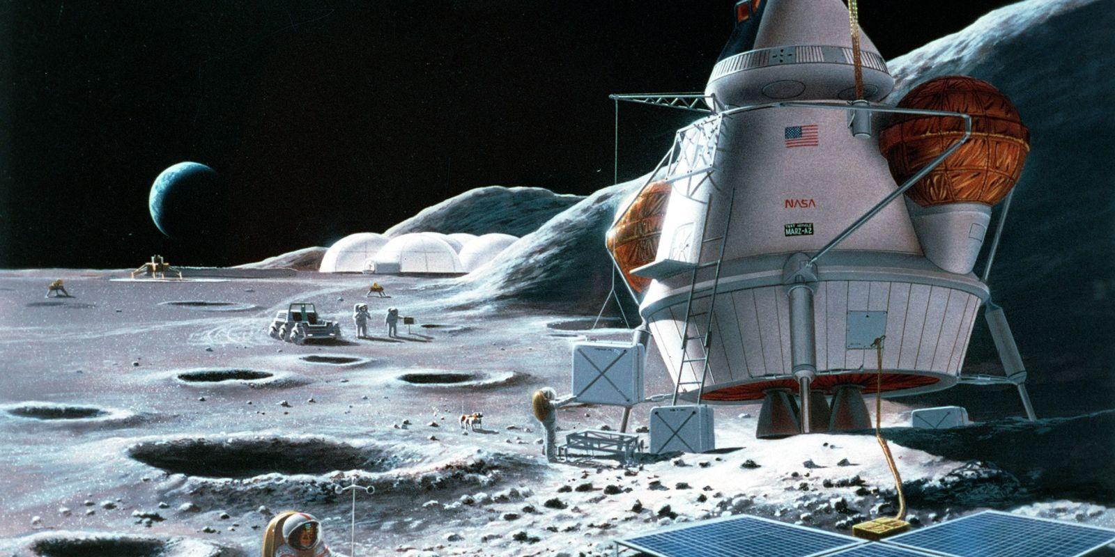 moon base meteor - photo #17