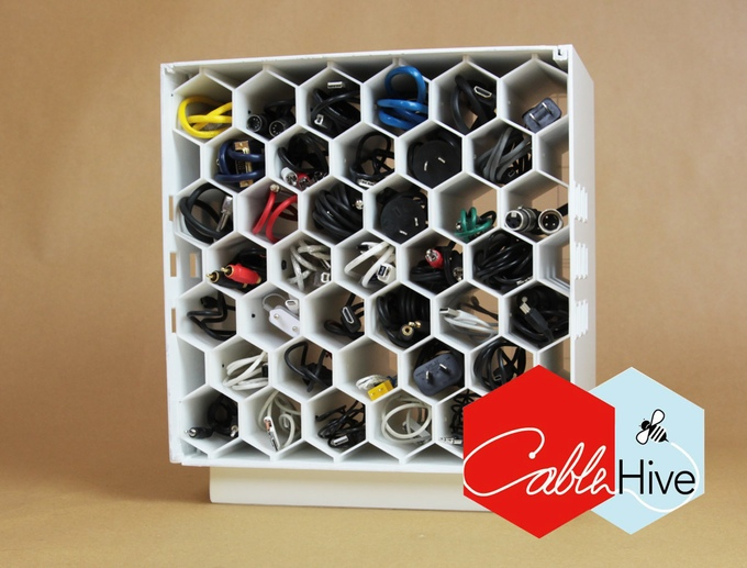 Finally, A Nice-Looking Way to Store All Your Stupid Cables