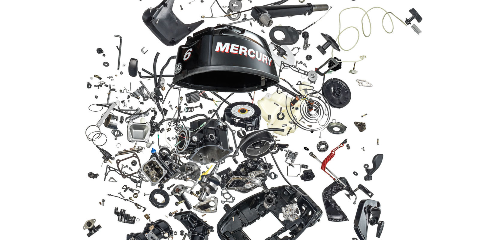 Watch us take apart an outboard motor into 501 pieces for What is the best outboard motor