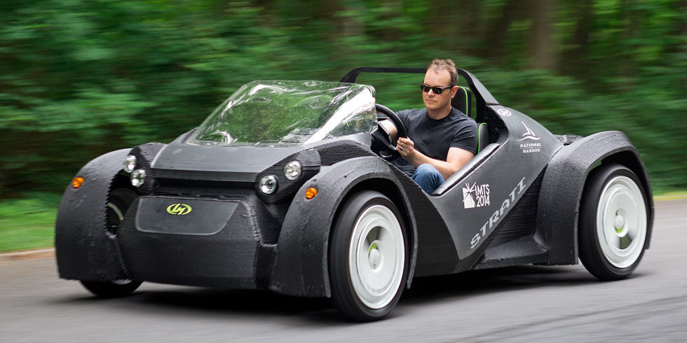the world 39 s first 3d printed car is a blast to drive. Black Bedroom Furniture Sets. Home Design Ideas