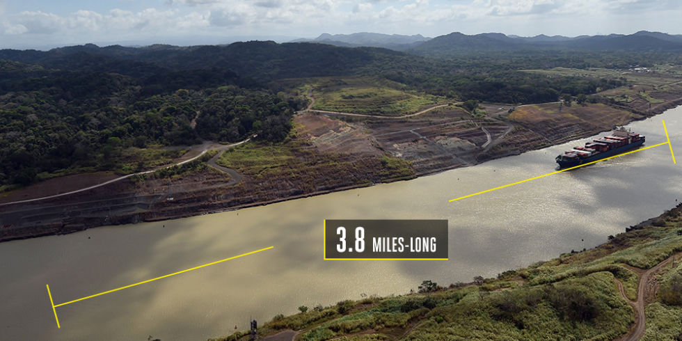 Time to build: 11 yearsCost to build: $5.25 billionThe Panama Canal is so 1914. That's why the expansion project, set to complete in 2016, will carve out a new 3.8-mile-long channel for new locks—which require 4.4 million cubic meters of concrete—and widen and deepen what is already there. Ships have grown a lot over the past century, and so the world's most famous canal must do the same to keep pace, even if that does mean whittling away more of Panama.
