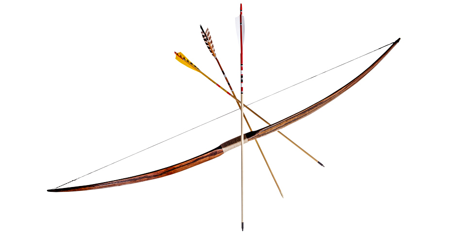 How to make a bow and arrow by hand - How to make a homemade bow and arrow out of wood ...