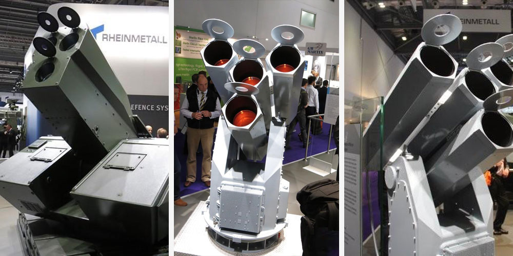 Germany's Got a 4-Barrel Laser Gatling Gun