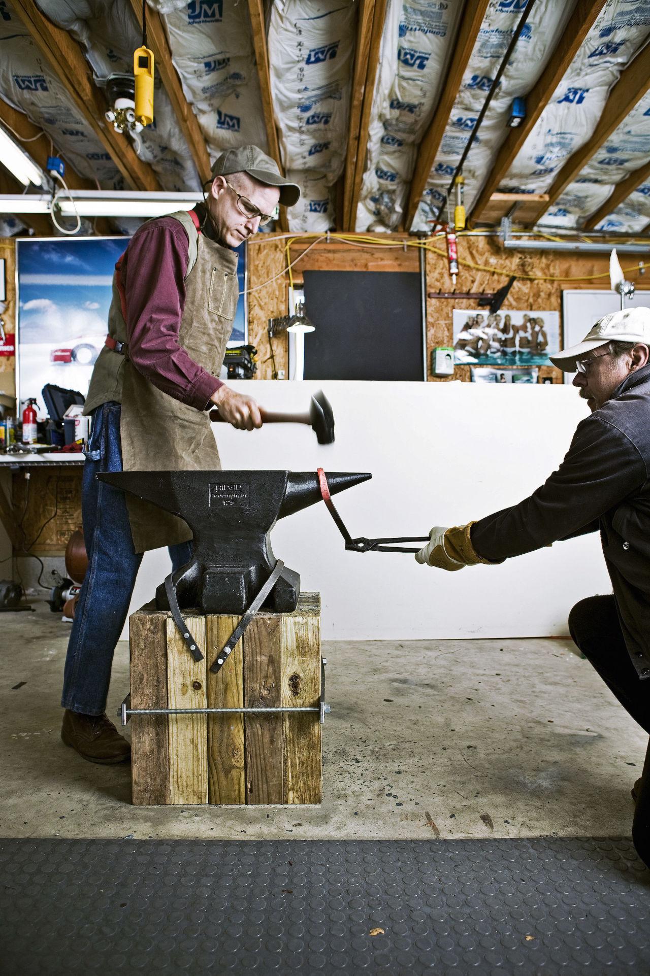 Blacksmithing - Magazine cover