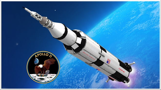 This LEGO Saturn V Is Almost As Cool As The Real Apollo 11