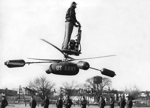 The Aerocycle Personal Chopper Barely Got Off The Ground