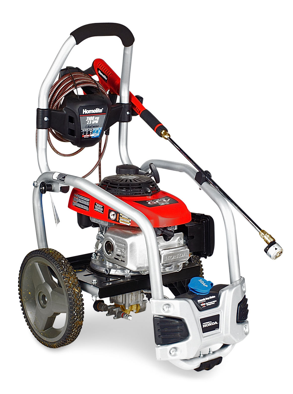 We Test The Top Small Pressure Washers on pressure washing jobs