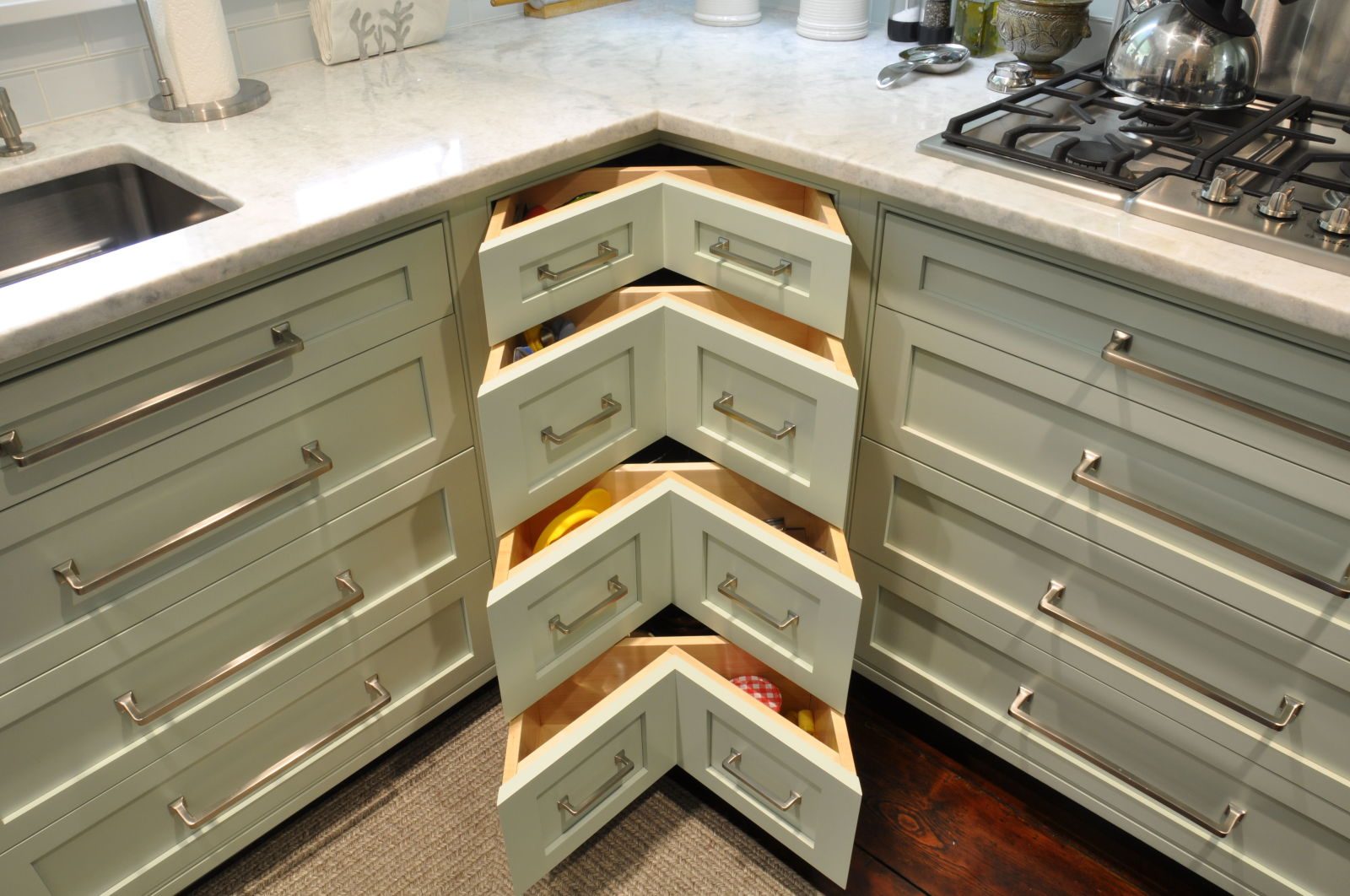 Kitchen corner cabinet wasted space - Kitchen Corner Cabinet Wasted Space 56