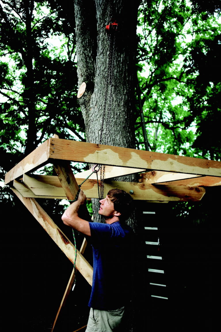 Perfect How To Build A Treehouse In The Backyard Part 28