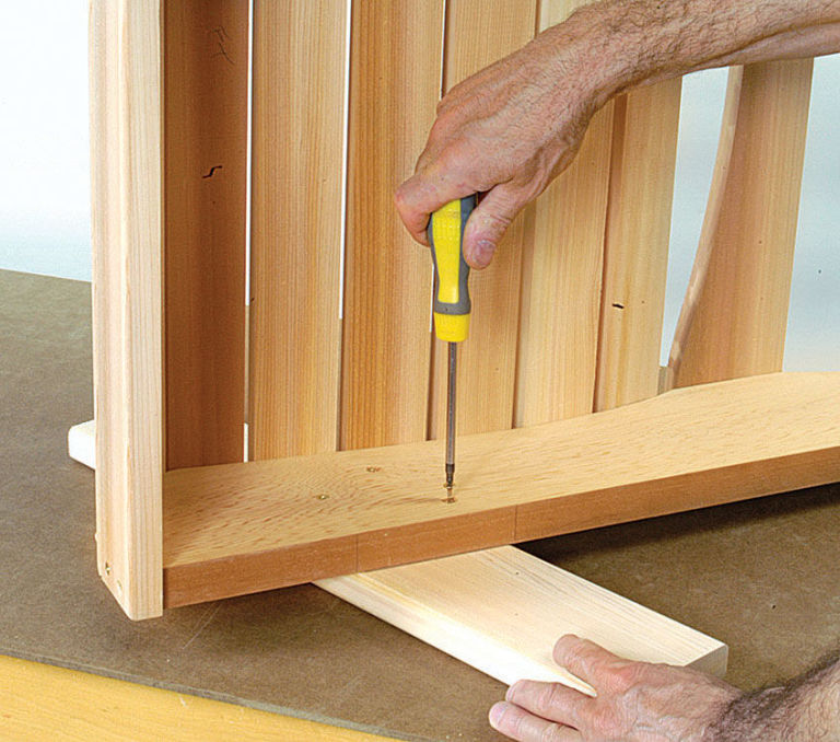 How To Build An Adirondack Chair And Table