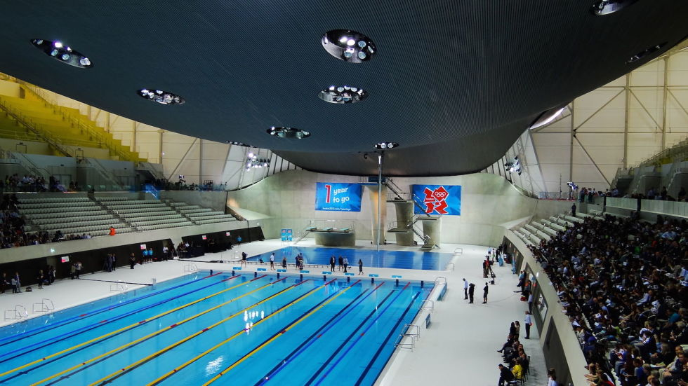london aquatics centre uk