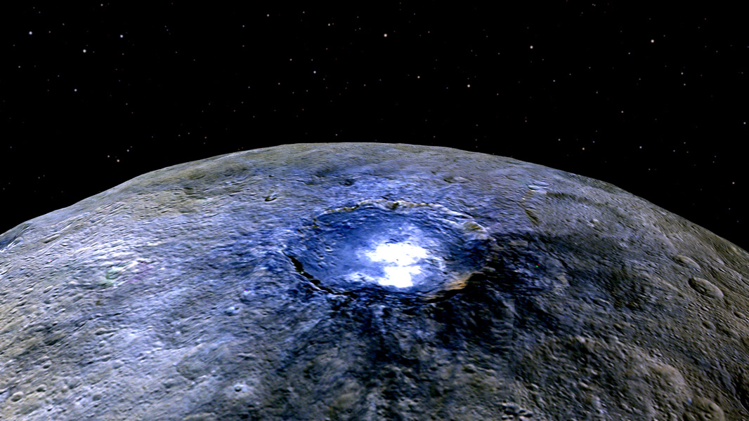 Scientists have just found organic molecules on Ceres, the dwarf planet in the asteroid belt between Mars and Jupiter.