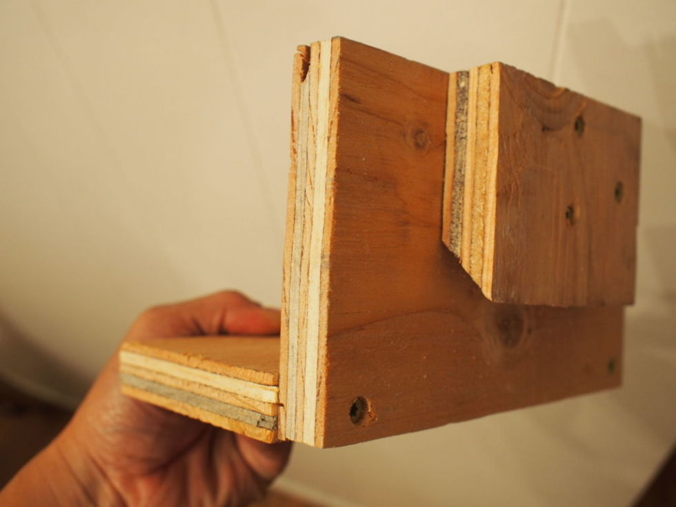 Live Within How To Build A French Cleat Shelf