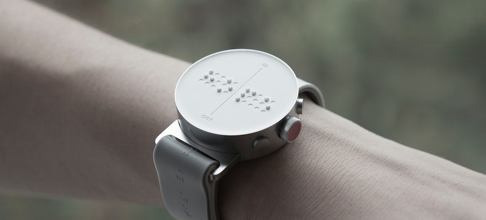This Super Stylish Smartwatch Was Designed for the Blind