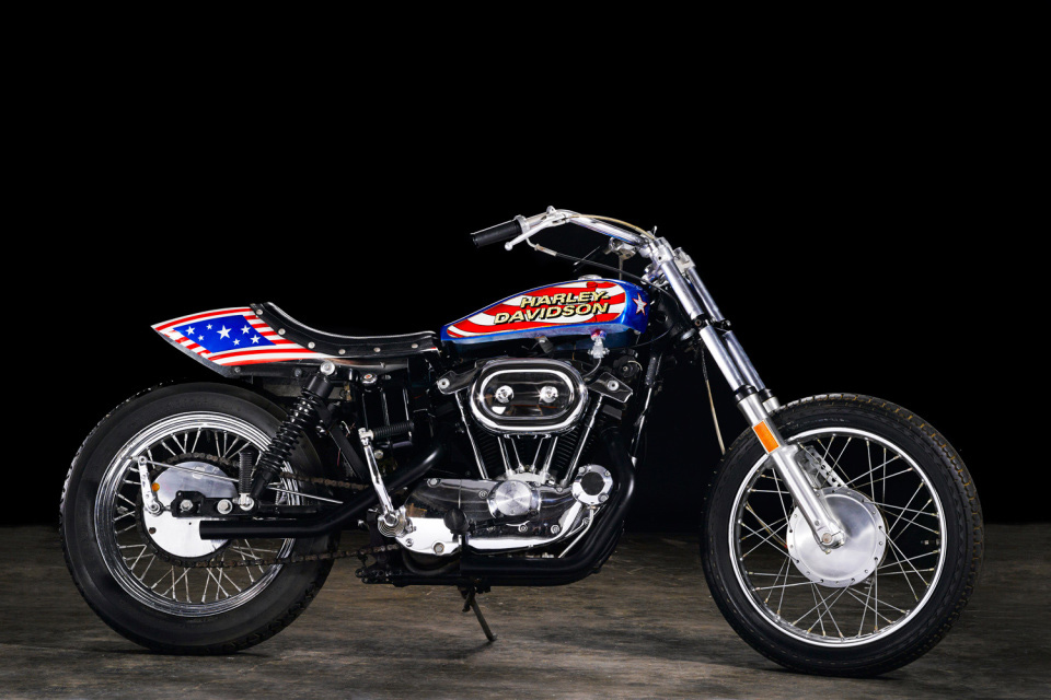 Evel Knievel Bike: Evel Knievel's Harley Sportster Is Going On The Auction Block