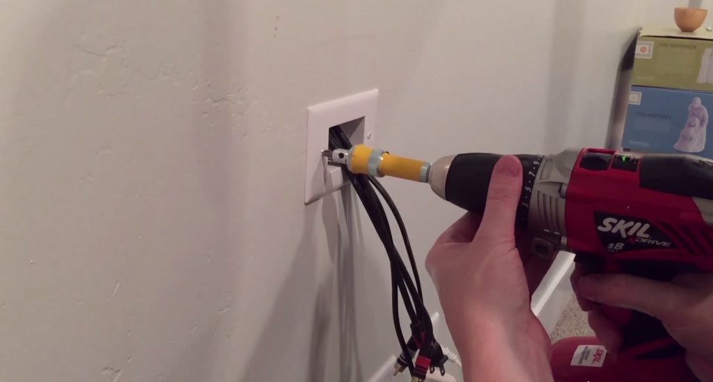 Cheap Cash Cars >> How to Hide a Hanging TV's Unsightly Wires for Less than $15