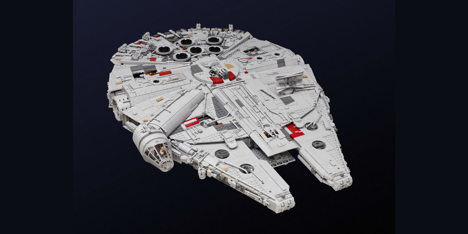 This Giant Lego Millennium Falcon Took A Year To Build