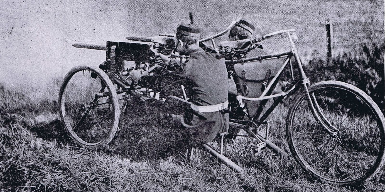 Forgotten Weapon The Maxim Dual Gun Tandem Tricycle