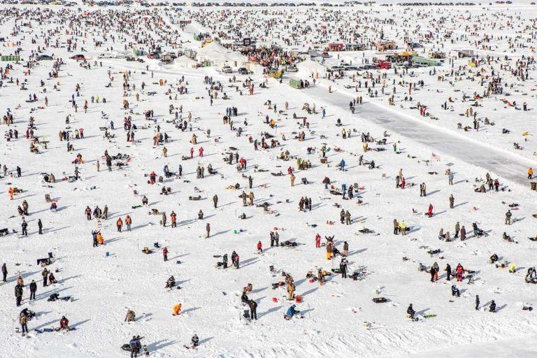 It 39 s ack dankmemes for Ice fishing michigan