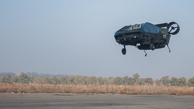 The Autonomous Flying Ambulance-Bot Takes Off
