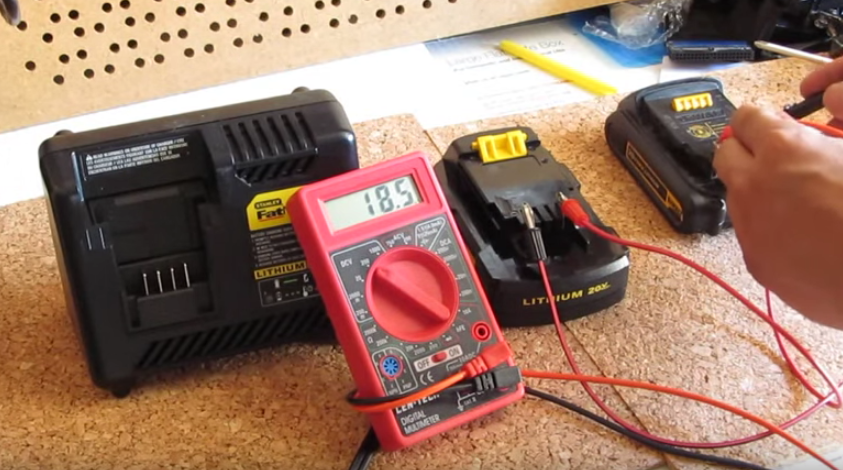 How To Jumpstart A Power Tool Battery And Bring It Back To