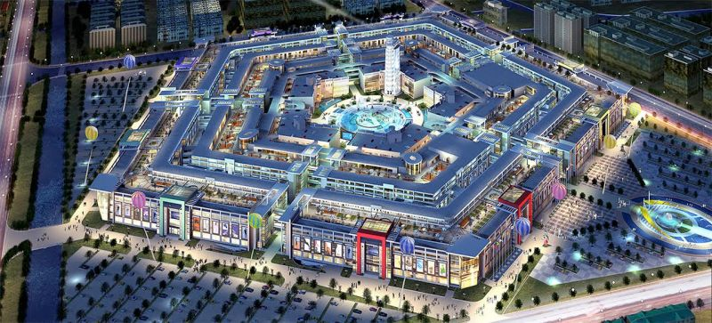 China built a mall modeled after the pentagon and now it 39 s for Shopping in cina