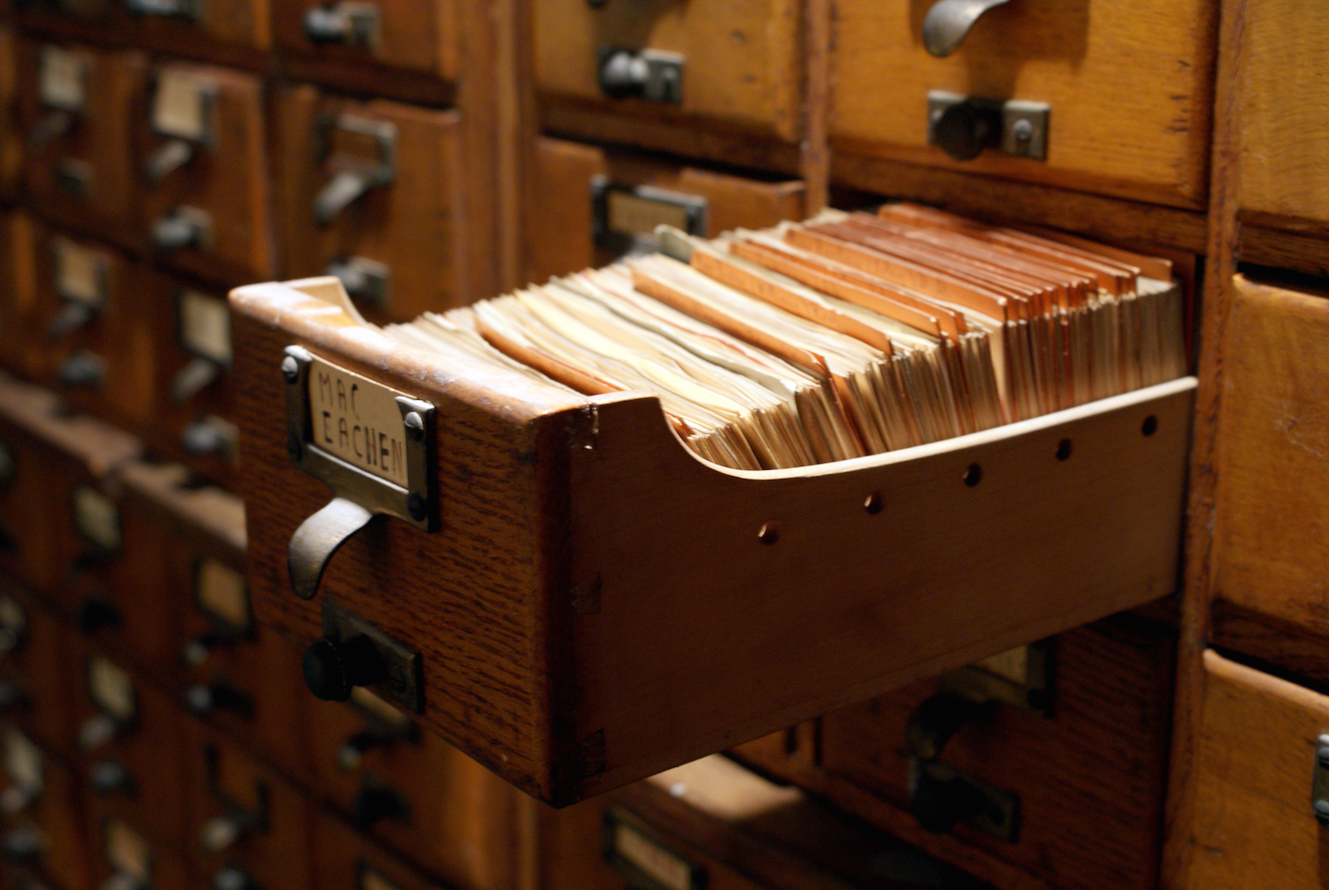 a short history of the index card