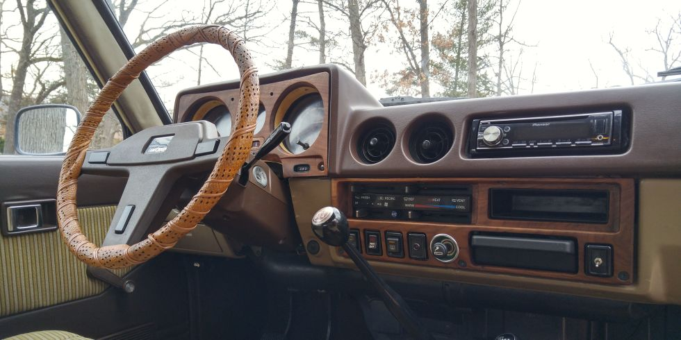 Wood Interior Car for a one-of-a-kind car interior, go with hand-built wood paneling