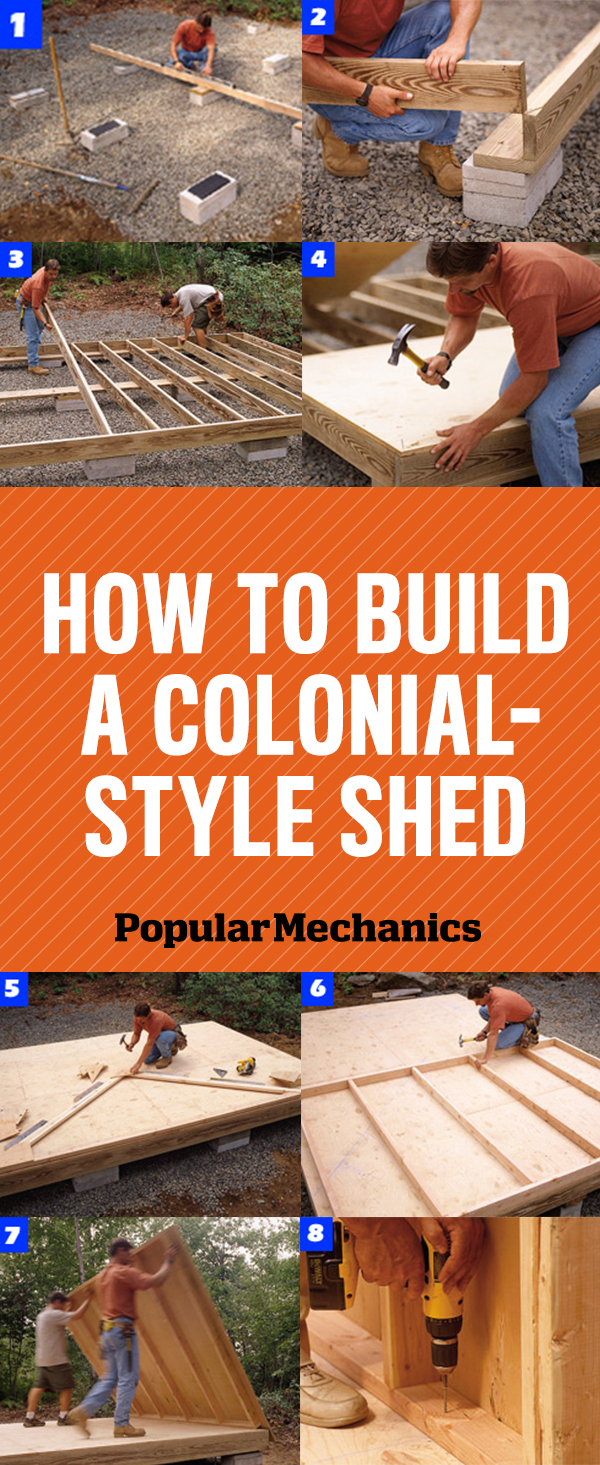 How To Build A Shed, Colonialstyle