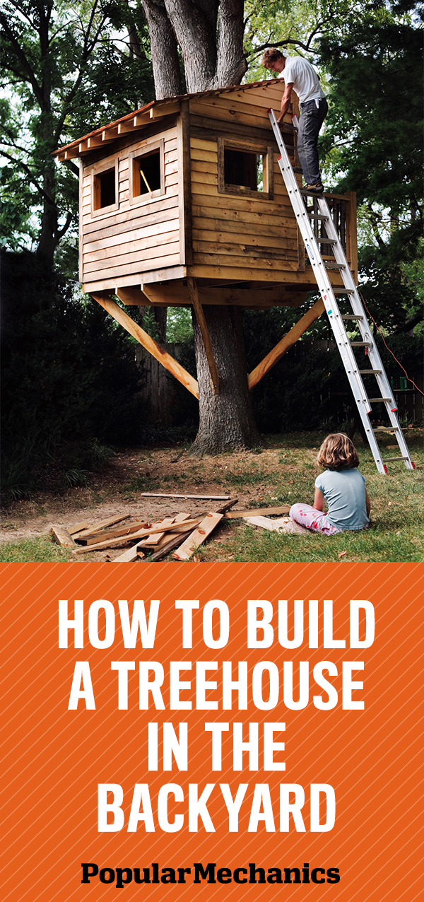 How To Build A Treehouse In The Backyard Part 39