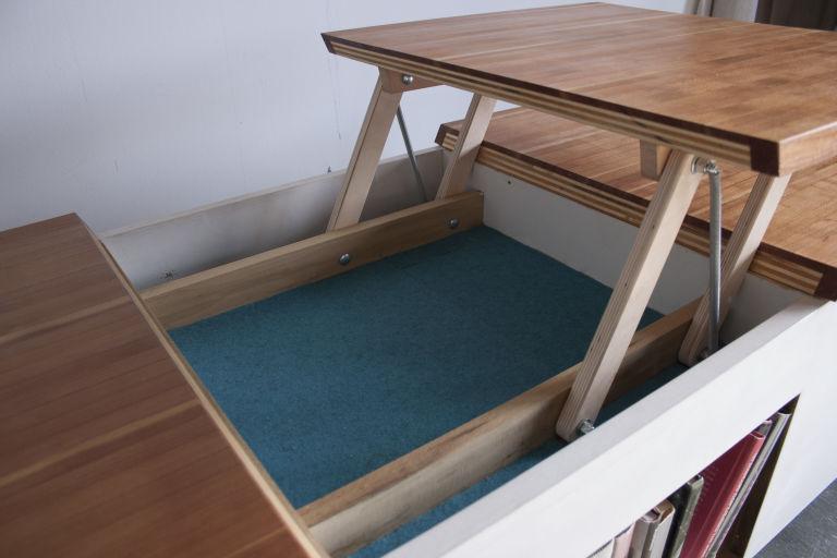 Raised Coffee Table Top