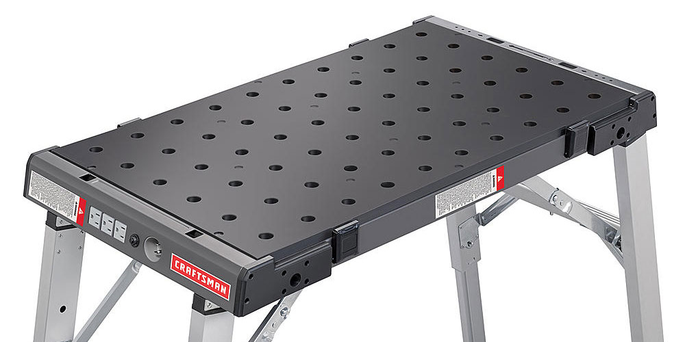 Craftsman S Brilliant Pegboard Workbench Can Hold Any