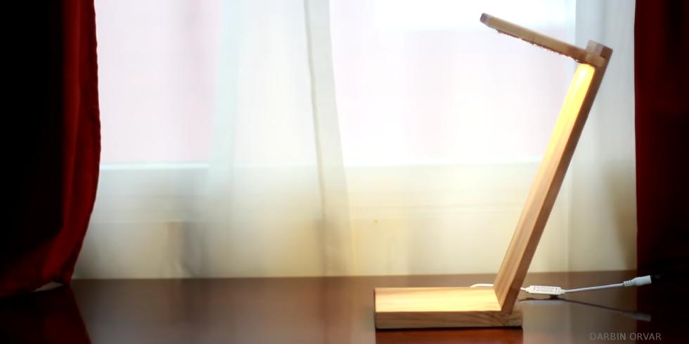 Diy Desk Lamp: LED desk lamp,Lighting