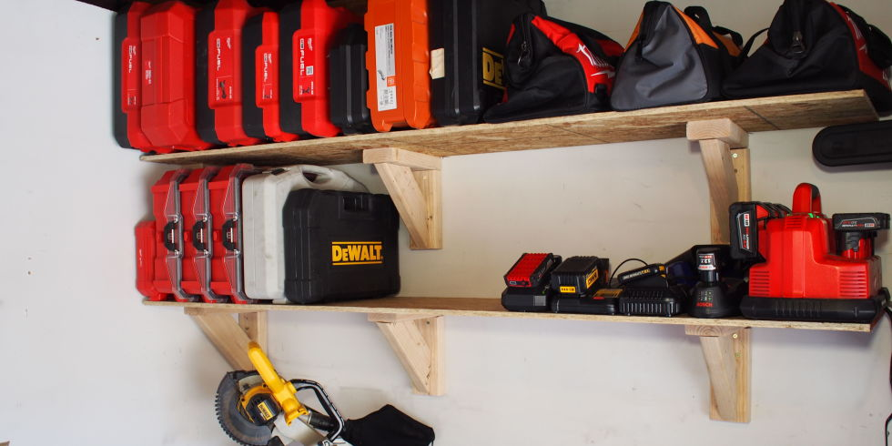 . How to Build Garage Storage Shelves on the Cheap